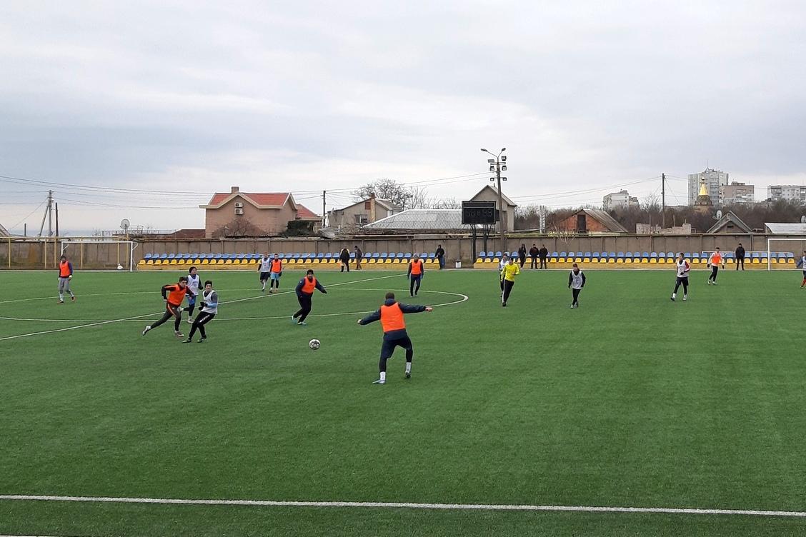 В Бердянске стартовал футбольный сезон-2021